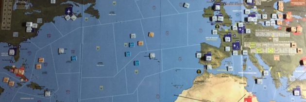 It's a Red Storm on The Rise with Compass Games 'Blue Water Navy'. Board Game Review.